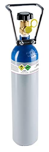 N2o Flasche Lachgas Tank 2kg, mehr als 99.7% rein Lachgas garantiert Bessere Lösung für Kapsler und Sahnekapseln
