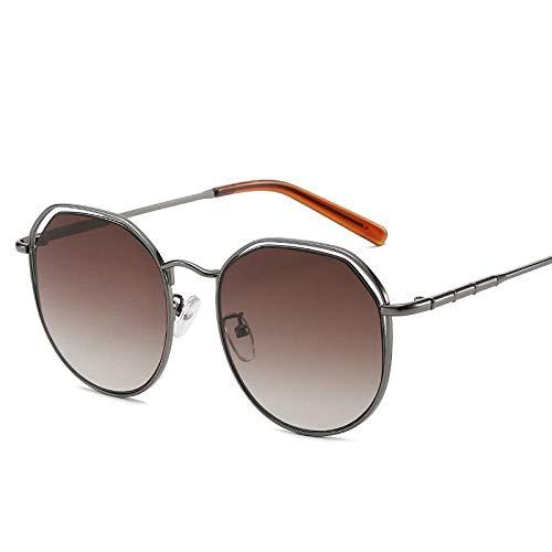 HPPSLT Gafas de Sol Polarizadas Clásico Retro para UV400 Protection, Gafas de Sol Tendencia Recorte Gafas de Sol con protección UV-3 3