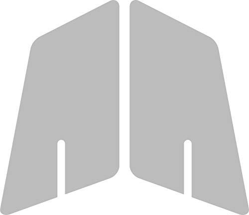 Quattroerre 18173 Paire Protections réservoir Universel Moto, Transparent
