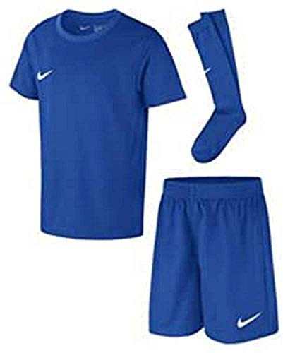 Nike Kinder Park Kit Trikotset, Blau (Royal Blue/White), S (104-110)