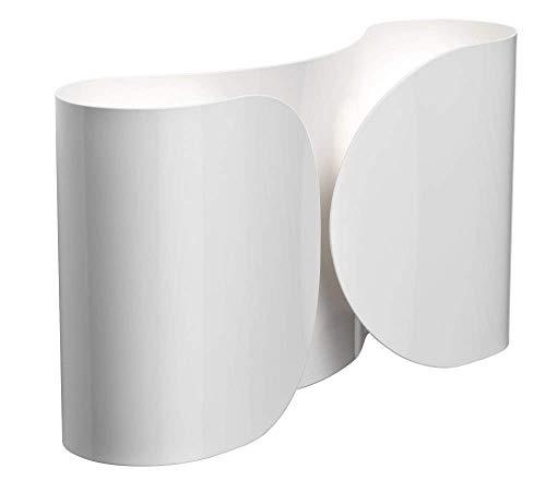 Flos Foglio - Aplique de pared, color blanco