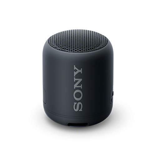 Sony SRS-XB12, Altavoz, Inalámbrico y alámbrico, MicroUSB, Tamaño Único, Negro