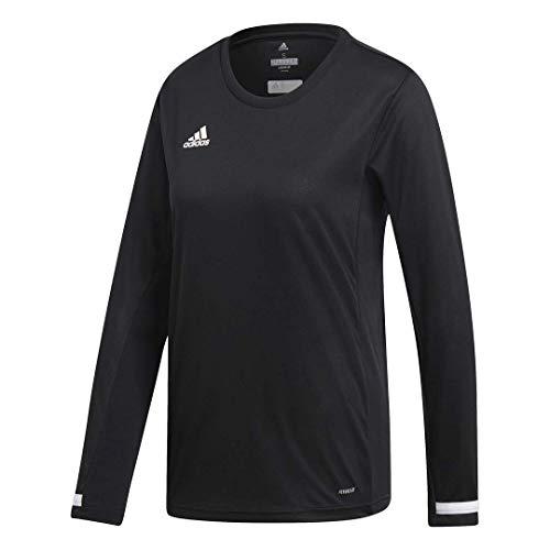 adidas Damen Team 19 Langarmshirt Small schwarz/weiß