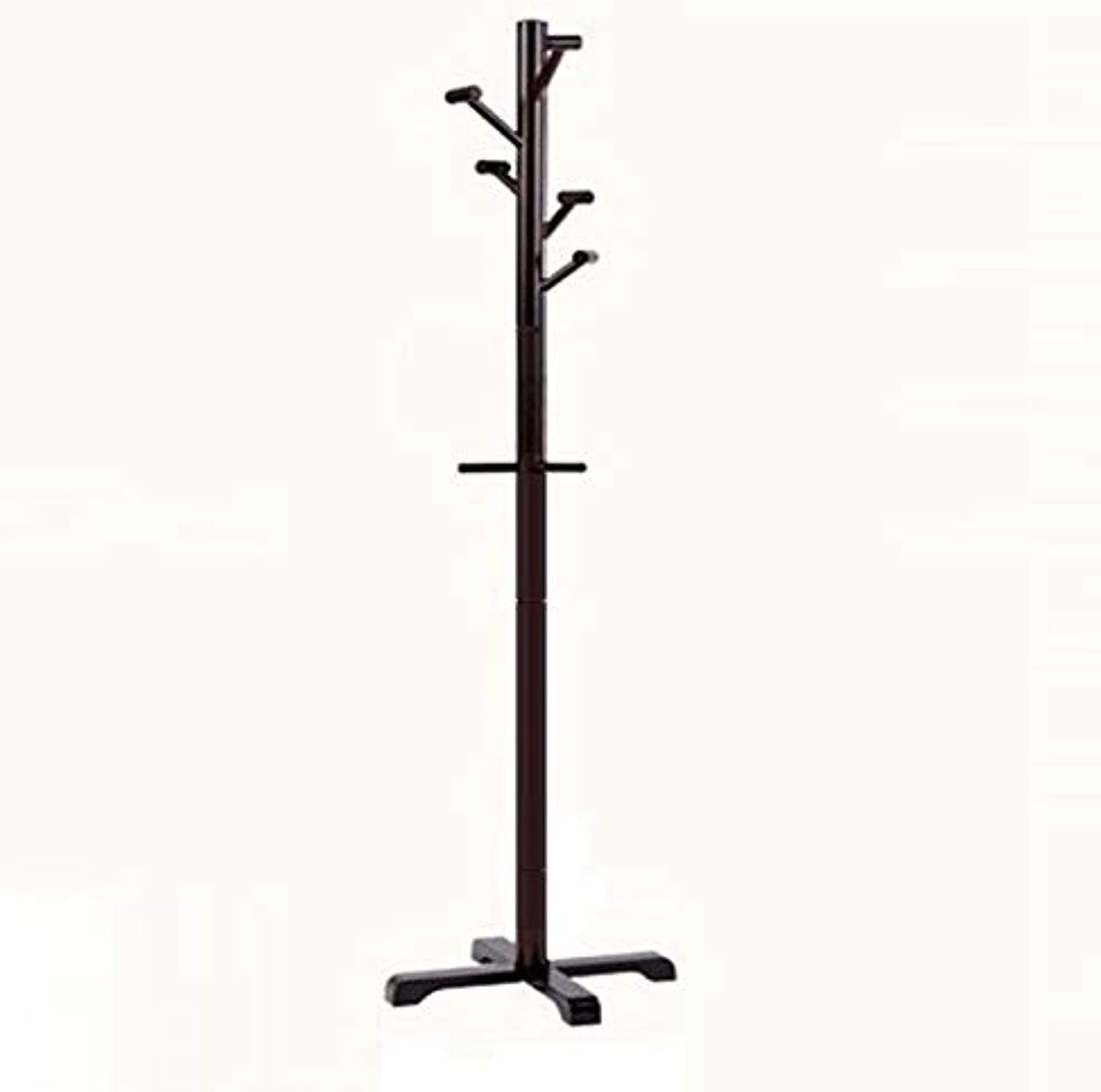 Coat Rack Coat Rack Stand,Coat Rack Coat Hat Stand Garment Rack, Detachable Multifunction Wood greenical Coat Rack, Tree Creative Bedroom Living Room Study,B,50  178cm
