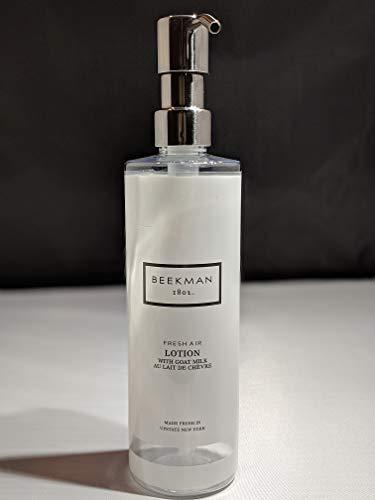 Beekman 1802 Fresh Air Goat Milk Body Lotion - Gallon or Refillable Empty Bottle with Metal Pump Dispenser (Refillable Bottle)