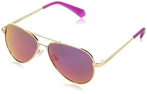 Polaroid KIDS PLD 8015/N/NEW gafas de sol, ORO, 50 Unisex Adulto