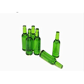 NWFashion 6PCS Miniature 1 12 Scale Wine Bottle for Dollhouse Children Party Multicolor