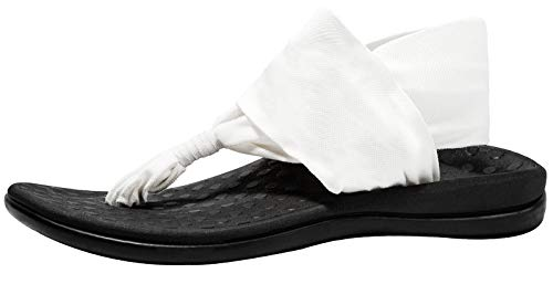 Women's Plantar Fasciitis Feet Yoga Sling Sandal Arch Supports Orthotics Flip Flops Relieve Flat Feet, High Arch, Foot Pain