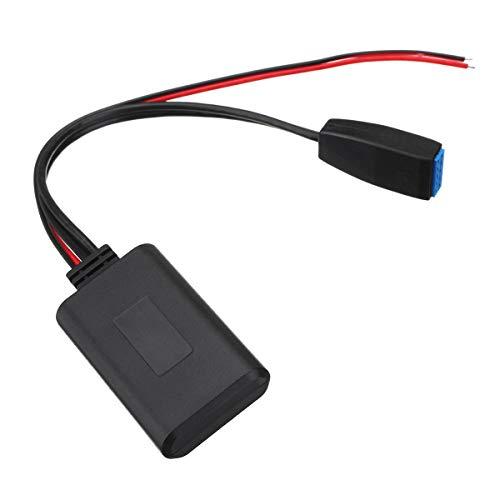 NICOLIE Módulo Bluetooth De Coche De 10 Pines Cable De Receptor Auxiliar Adaptador Cable De Audio Compatible con BMW E39 E46