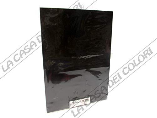 RAYHER 8959400 magneetfolie, zwart, zelfklevend, 21 x 29 cm, 2 mm dik, magnetische kleeffolie, magneten knutselen, met schaar te snijden