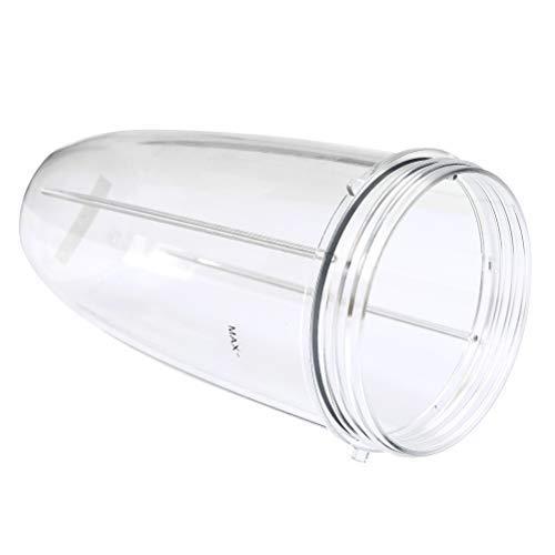 TIMESETL Ersatzteile für Nutribullet, 32 OZ Entsafter Becher Ersatzbecher für Mixer, Kleine Tasse Cup Entsafter Zubehör für Nutribullet Blender Entsafter 900W / 600W
