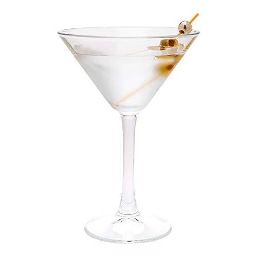 Cascata 8 oz Cocktail Martini Glass - 12 count box