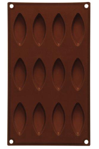 Premier Housewares 0804992 Moule à Chocolat 12 Formes d'Œil en Silicone Marron