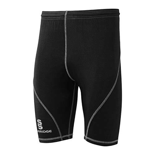 Surridge Sports Premier Long Sleeve Sug, Negro, Talla única Unisex niños