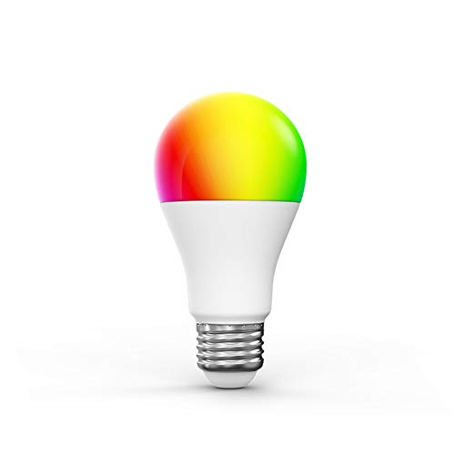 Woox Smart Lamp Bulb, Lampadina a LED con attacco E27, multicolore RGB...