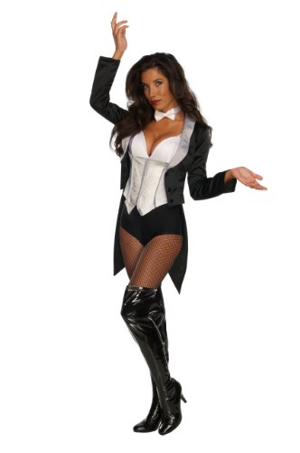Rubie's Women's DC Comics Zatanna Costume, Black/White, Small