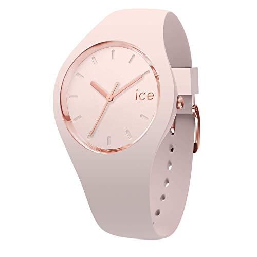 Ice-Watch - ICE glam colour Nude - Reloj rosa para Mujer con Correa de silicona - 015334 (Medium)