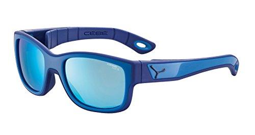 Cébé - S'TRIKE - Lunettes de soleil - Mixte Enfant - Bleu (S'trike Blue Blue 1500 Grey BL Blue FM) - Taille Unique