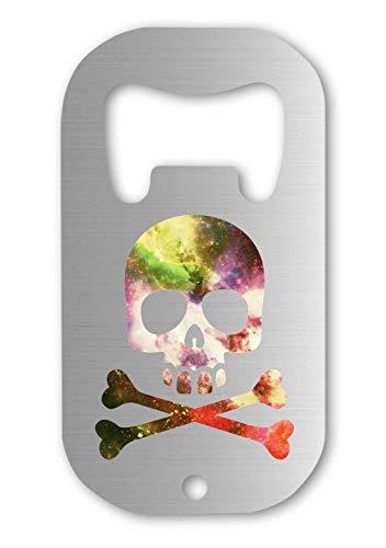 Celestial Skull Cosmic Pirate Jolly Roger Bottle Opener