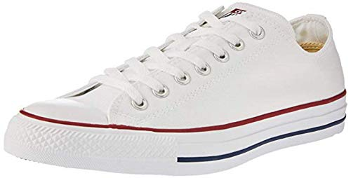 Converse Chuck Taylor All Star Seasonal Farben Ox Unisex 53 EU, Weiß Optical White