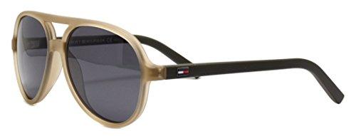 Tommy Hilfiger TH 1221/S P9 CYJ 50 Gafas de Sol, Verde (Trolive Oliv/Grey), Unisex Niños