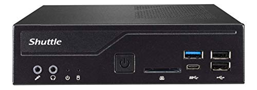 Shuttle XPC Slim DH310S Mini Barebone PC Intel H310 Support 65W Coffee Lake CPU No Ram No HDD/SSD No CPU No OS