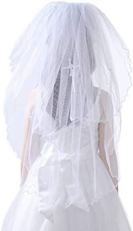 Glamulice First Communion Veil Praying Girl Wall Cross Communion Mantilla Veil Wedding Baptism product image