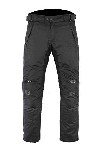 FREEDAY Pantalón de Moto para Mujer Invierno Con Protecciones CE 100% Impermeable Negra PL-080 (L, NEGRA)