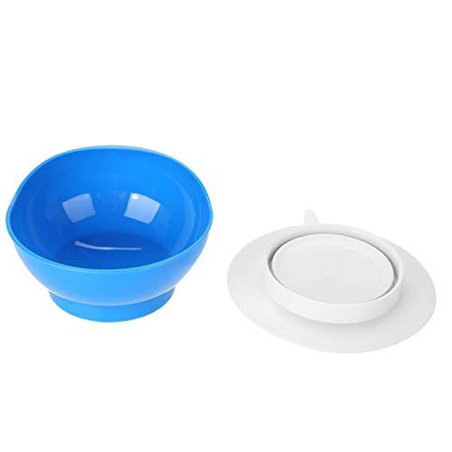 Pwshymi Tazón de Fuente de succión Tazón Anti-Quemaduras Tazón de succión útil para Uso doméstico para Ancianos