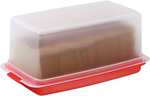 SIGNORA WARE Bread Box - Dual Use Bread Holder/Airtight Plastic Food...
