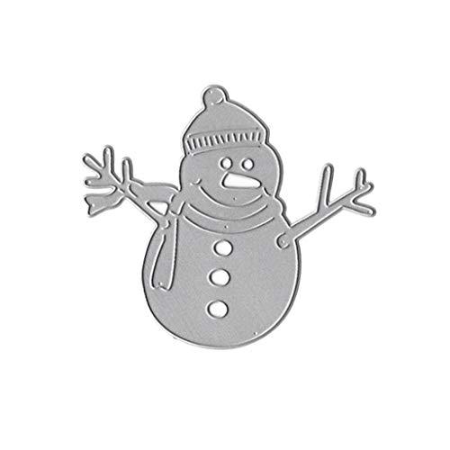 Weihnachten Schneemann Stanzschablonen Metall Stanzformen Schablone Stanzformen Schablone Für Kartenherstellung Scrapbooking Album Papier Karte Präge Handwerk Dekor