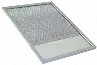 Universal Metal Industries Range Hood Grease Filter with Lens - 10-7/8x11-7/8x3/8