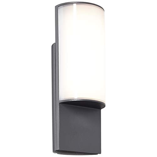 Rori LED buitenlamp in antraciet, IP-bescherming: 44 - spatwaterdicht, 10 watt, 850 lumen, 3000 Kelvin