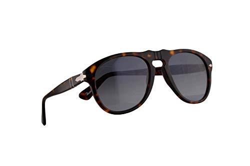 Persol PO0649S Sonnenbrille Braun Havana Mit Blauem Verlaufsglas Gläsern 2486 54mm PO 0649 PO0649-S 649S 649-S PO 649