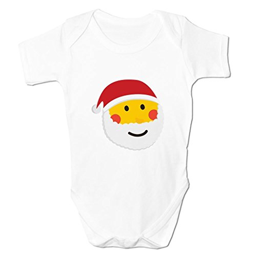 Funny Baby Grows Cute Baby Clothes for Baby Boy Baby Girl Bodysuit Vest Santa Claus Emoticon
