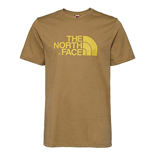 The North Face M S/S Easy Tee British Khaki APP_Top Homme, FR : S (Taille Fabricant : S)