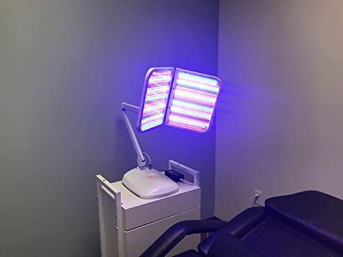 Buy Californiamicroneedle Foldable Photon LED Skin Rejuvenation Light Therapy Mask PDT Facial Light ...