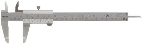 MITUTOYO Präzisionsmessschieber mit Feststellschraube | DIN 862 | Messbereich 0-150mm | 530-122