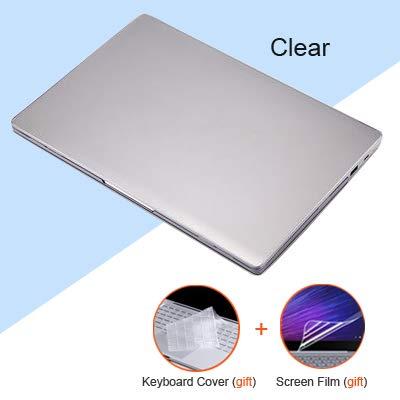 XXIUYHU Hülle für Xiaomi MiBook Air 12.5 13.3 Superleichte, Harte Laptop-Hülle für Funda Xiaomi Mi Air 12 13 Capa para + Tastaturabdeckung + Folie für Mi Air 13.3 Zoll Durchsichtig