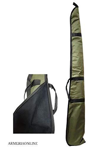 Materiale: cordura Apertura: con zip Interno: Imbottito Dotato di maniglia trasporto e tracolla regolabile Lunghezza 130CM larghezza 19cm
