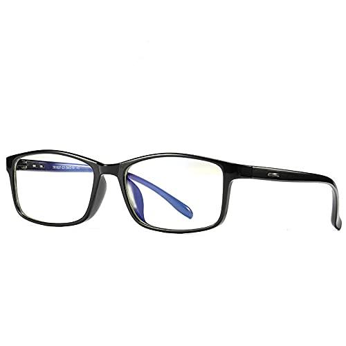 NJJX Gafas De Luz Azul ConMontura ParaHombres, Gafas De Ordenador, Gafas De Sol Para Miopía, Lentes DePrescripción Antirrayos Azules ParaJuegosZss0052C1