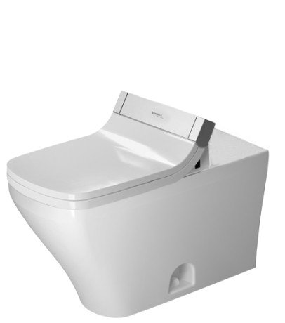 Duravit 2160510000 Durastyle One-Piece Toilet Bowl with White Siphon Jet, Elongated  (Bowl Only)