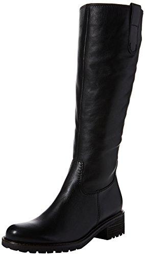 Gabor Shoes Damen Comfort Basic Stiefel, Schwarz (Schwarz (Mel.), 39 EU