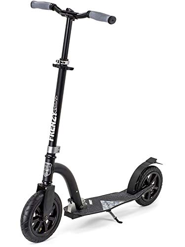 Frenzy Pneumatic Recreational Roller, Unisex, Erwachsene, Schwarz, 230 mm