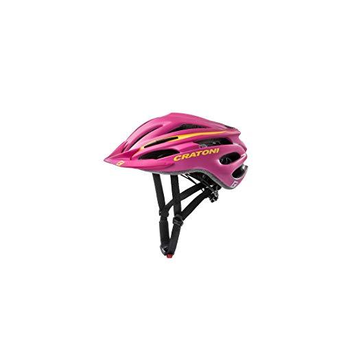 Cratoni Unisex– Erwachsene Pacer (MTB) Fahrradhelm, pink, One Size