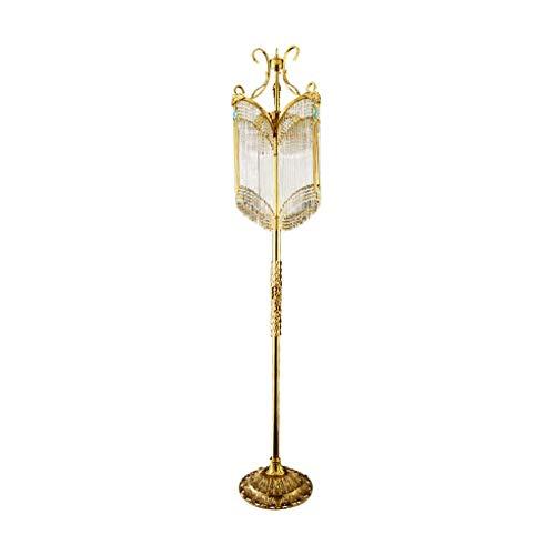 Moderne Stehlampen Französische Kupfer Stehlampe Wohnzimmer Schlafzimmer Dekoration Leuchte Vintage Kristall Led Vertikale Stehleuchte Design Leuchte Beleuchtung