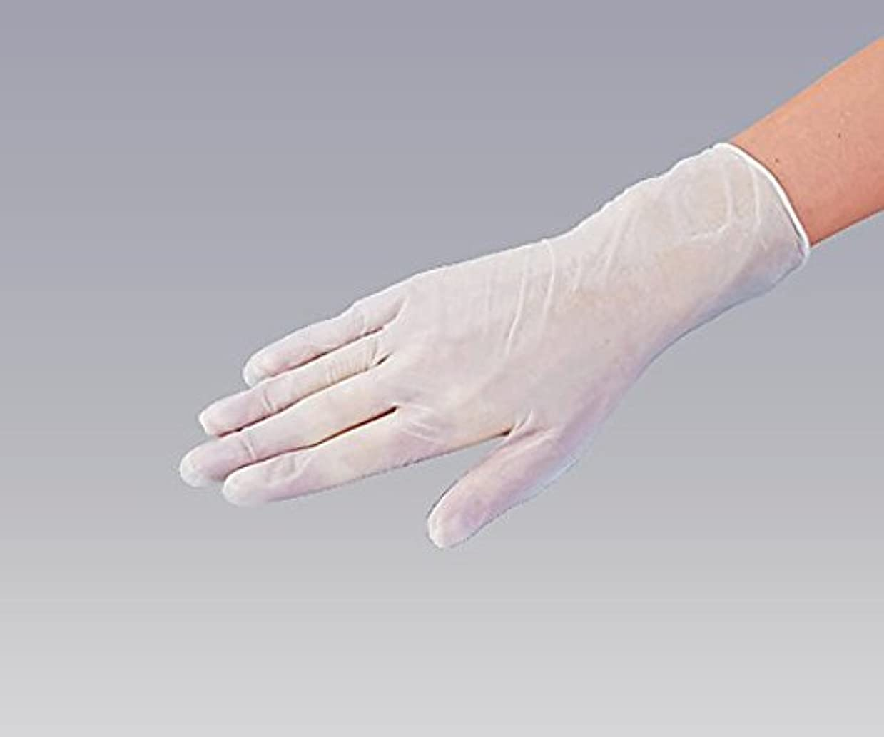 定期的に大邸宅リーフレットナビス(アズワン)0-9868-01プラスチック手袋パウダー無L100入