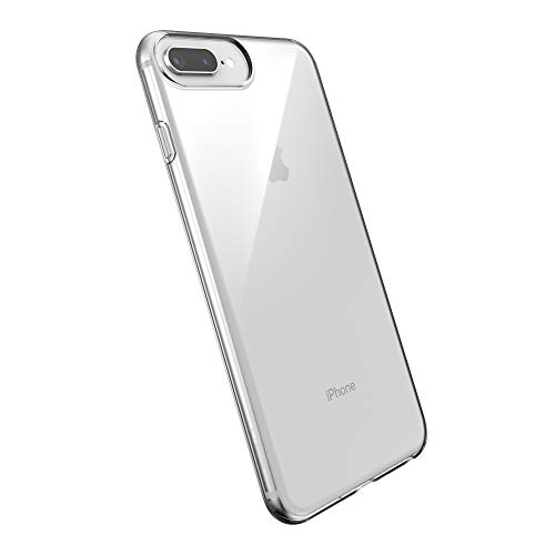 Speck Slim Clear iPhone 8+ iPhone 7+ iPhone 6S+ Case, Single Layer, Clear