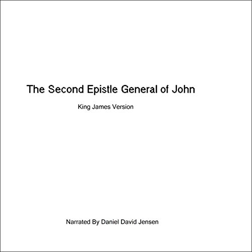 The Second Epistle General of John audiobook cover art