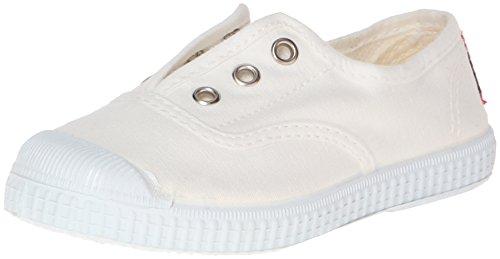 Cienta, 70777, Sportschuhe, unisex, elastisch, Stoff, Weiß - weiß - Größe: Medium